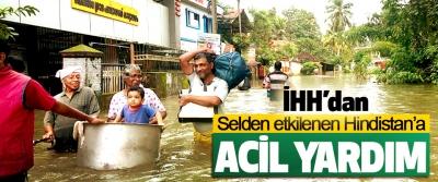 İHH'dan Selden etkilenen Hindistan'a Acil Yardım