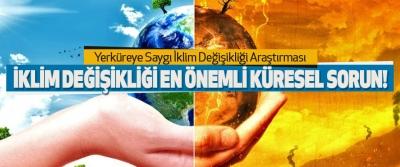 İklim Değişikliği En Önemli Küresel Sorun!