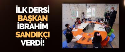 İlk Dersi Canik Belediye Başkanı İbrahim Sandıkçı Verdi!