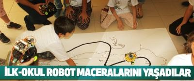 İlk-Okul Robot Maceralarını Yaşadılar