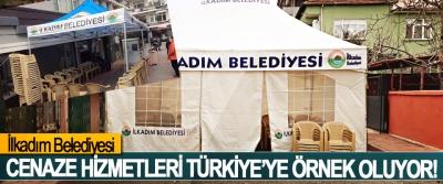 İlkadım Belediyesi Cenaze Hizmetleri Türkiye'ye Örnek Oluyor!