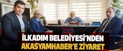 İlkadım Belediyesi'nden Akasyamhaber'e Ziyaret