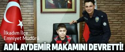 İlkadım Emniyet Müdürü Aydemir makamını devretti!