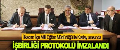 İlkadım İlçe Milli Eğitim Müdürlüğü ile Kızılay arasında  İşbirliği Protokolü İmzalandı