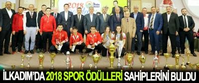 İlkadım'da 2018 Spor Ödülleri Sahiplerini Buldu