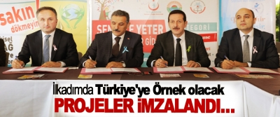 İlkadımda Türkiye'ye Örnek olacak Projeler İmzalandı…