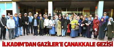 İlkadım'dan Gaziler'e Çanakkale Gezisi
