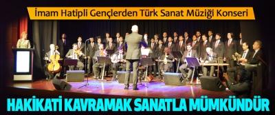 İmam Hatipli Gençlerden Türk Sanat Müziği Konseri