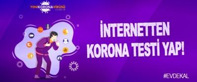 İnternetten Korona Testi Yap!