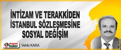 İntizam Ve Terakkiden İstanbul Sözleşmesine Sosyal Değişim