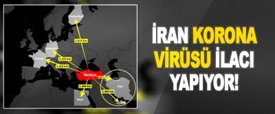 İran Korona Virüsü İlacı Yapıyor!