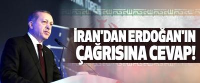 İran'dan erdoğan'ın çağrısına cevap!
