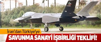 İran'dan Türkiye'ye Savunma Sanayi İşbirliği Teklifi!