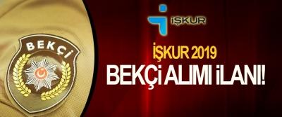 İŞKUR 2019 Bekçi Alım İlanı!