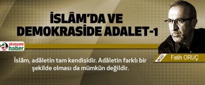 İslâm'da Ve Demokraside Adalet-1
