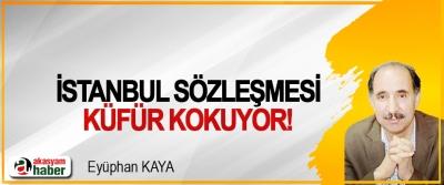İstanbul sözleşmesi küfür kokuyor!