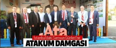 İstanbul'daki Samsun Günleri'ne Atakum Damgası