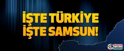 İşte Türkiye, işte Samsun!