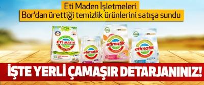 İşte yerli çamaşır detarjanınız!