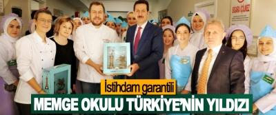 İstihdam garantili MEMGE Okulu Türkiye'nin Yıldızı