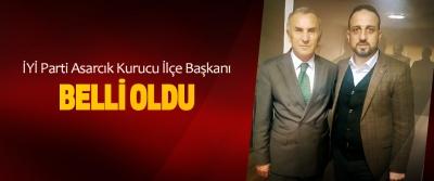 İYİ Parti Asarcık Kurucu İlçe Başkanı belli oldu