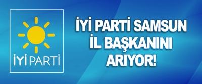 İyi Parti Samsun İl Başkanını Arıyor!
