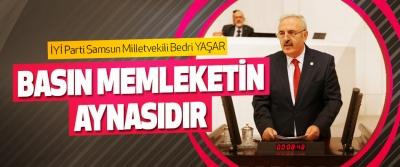 İyi Parti Samsun Milletvekili Bedri Yaşar: