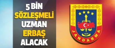 Jandarma ve Sahil Güvenlik Akademisi 5.Bin Sözleşmeli Uzman Erbaş Alacak