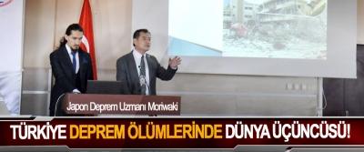 Japon Deprem Uzmanı Moriwaki: Türkiye deprem ölümlerinde dünya üçüncüsü!