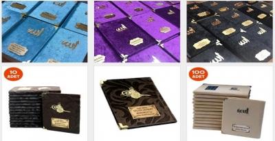 Kadife Kaplı Yasin Kitapları İle Cemiyetinizi Renklendirin