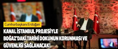 Kanal İstanbul Projesiyle, Boğaz'daki Tarihî Dokunun Korunması Ve Güvenliği Sağlanacak!