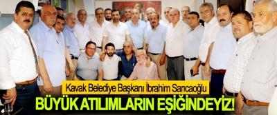 Kavak Belediye Başkanı Sarıcaoğlu: Büyük Atılımların Eşiğindeyiz!