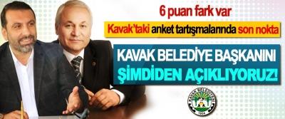 Kavak'taki anket tartışmalarında son nokta, Kavak belediye Başkanını şimdiden açıklıyoruz!