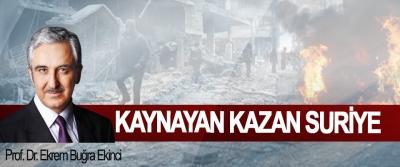 Kaynayan Kazan Suriye