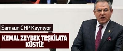 Kemal Zeybek teşkilata küstü