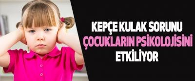 Kepçe kulak sorunu çocukların psikolojisini etkiliyor
