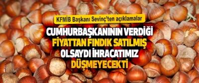 KFMİB Başkanı Sevinç'ten Açıklamalar