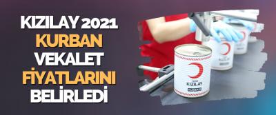 Kızılay 2021 Kurban Vekalet Fiyatlarını Belirledi