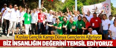 Kızılay Gençlik Kampı Dünya Gençlerini Ağırlıyor