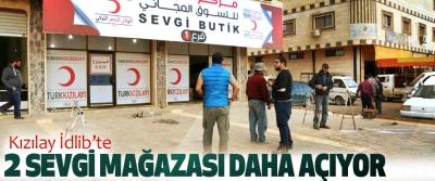Kızılay İdlib'te 2 Sevgi Mağazası Daha Açıyor