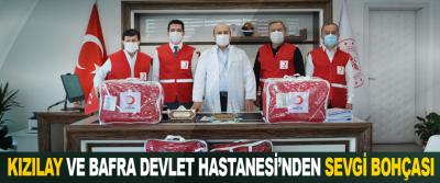 Kızılay ve Bafra Devlet Hastanesi İşbirliği ile Sevgi Bohçası