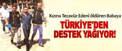 Kızına Tecavüz Edeni öldüren Babaya Türkiye'den destek yağıyor!
