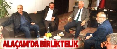 Kongre sürecinde Alaçam Ak Parti teşkilatları birlik ve beraberlik içerisinde