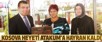 Kosova Heyeti Atakum'a Hayran Kaldı