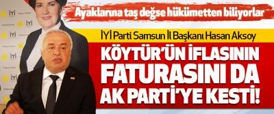 Köytür'ün İflasının Faturasını da Ak Parti'ye Kesti!