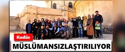 Kudüs Müslümansızlaştırılıyor