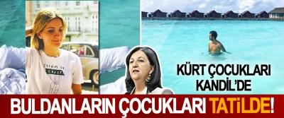 Kürt çocukları Kandil'de Buldanların çocukları tatilde!