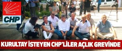 Kurultay İsteyen CHP'liler Açlık Grevinde