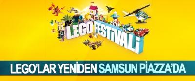 Lego'lar Yeniden Samsun Piazza'da