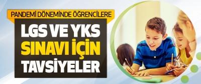 LGS ve YKS'ye Girecek Öğrencilere Tavsiyeler